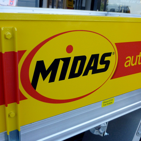 Commercial Vehicle Signage
