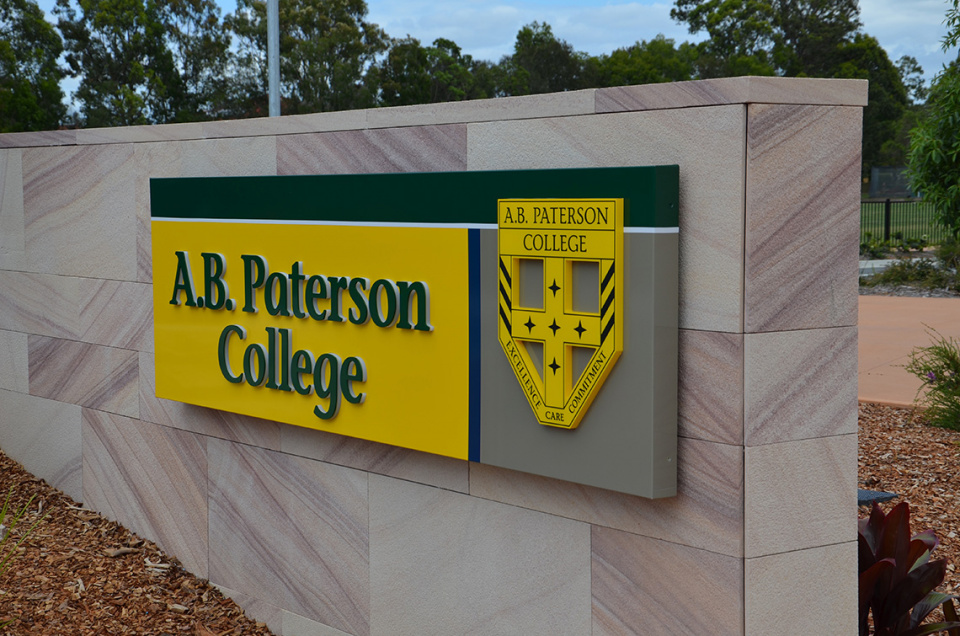College 3D Signs