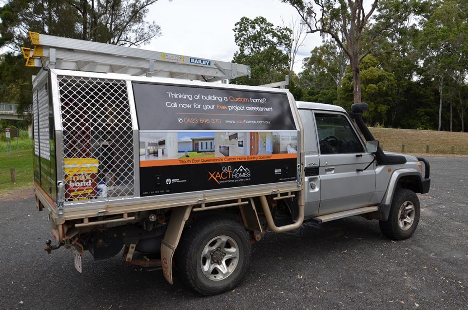 Custom Vehicle Signage
