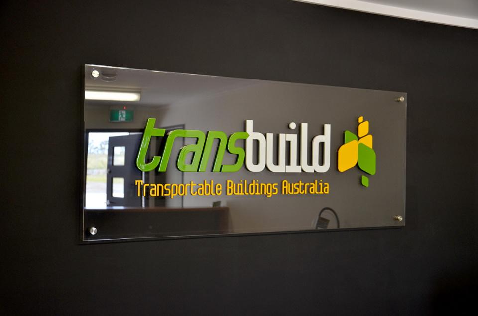 3D Reception Signage